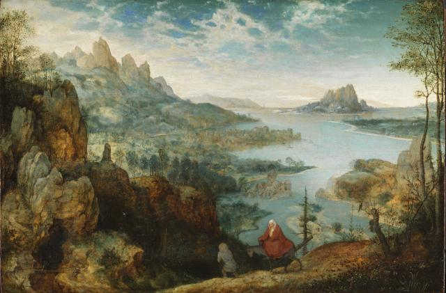 Landscape with the Flight into Egypt