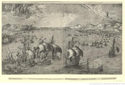 Battle in the Straits of Messina